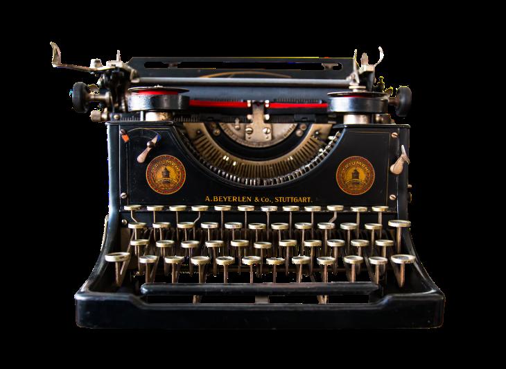 typewriter-1138293_1920